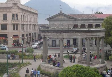 Guatemala Xela Parque Central
