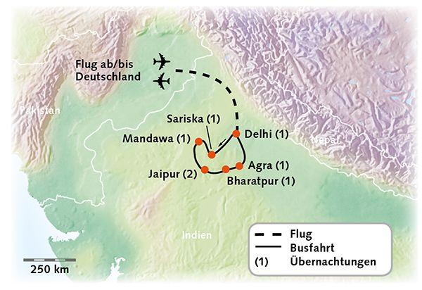 Indien Quot Goldenes Dreieck Quot Kiwitours
