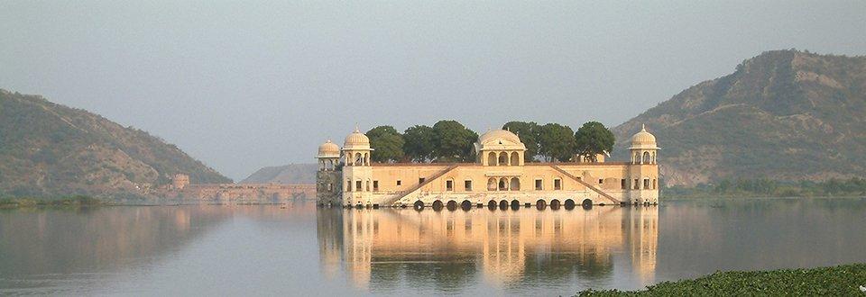 Indien Jaipur Lake Palace