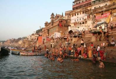 Indien Varansi Ganges