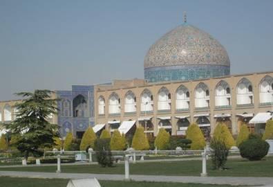 Iran Isfahan Lotfullah Moschee
