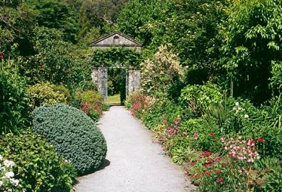 Irland Ilnaculin Garden