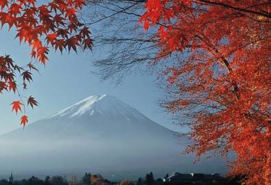 Japan Fuji San Geisha