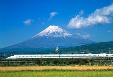 Japan Fuji Shinkansen