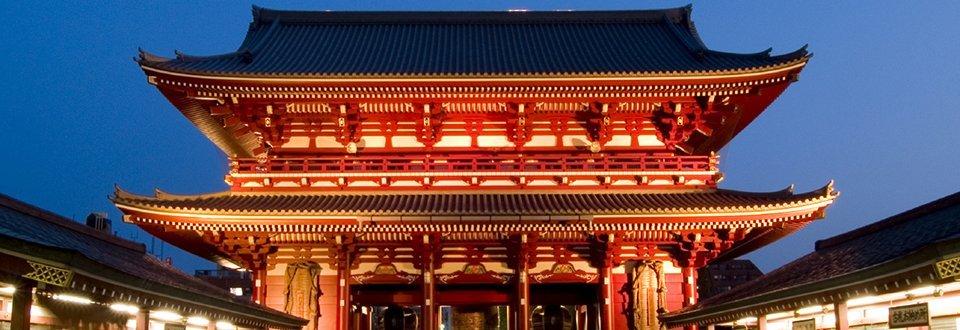 Japan Tokyo Tempel in Asakusa