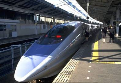 Japan Zug Shinkansen Superexpress