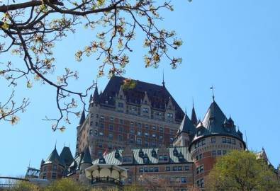 Kanada Quebec Chateau Frontenac