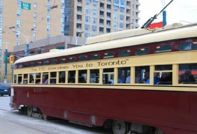 Kanada Toronto Straßenbahn
