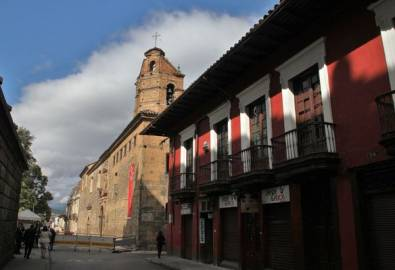 Kolumbien Bogota Altstadt