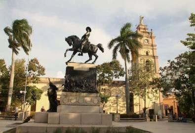 Kuba Reiterstatue