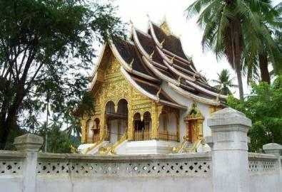 Laos - Luang Prabang Tempel