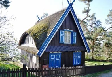 Lettland Kurische Nehrung DünenThomas Mann Haus