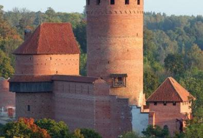 Litauen Gaujas Nationalpark Burg Turaida