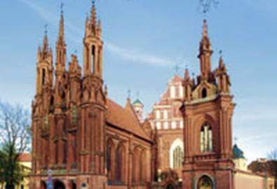 Litauen Vilnius St. Anna Kirche