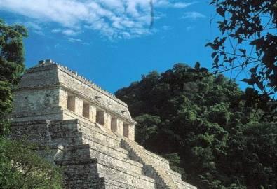 Mexiko Palenque Tempel