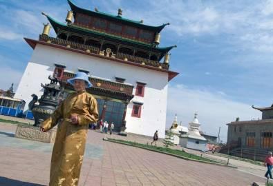 Mongolei Ulaan Baatar Gandan Kloster