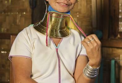 Myanmar Langhalsfrau