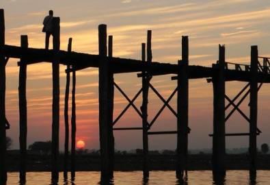 Myanmar U Bein Brücke