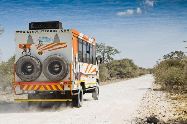 Namibia Expeditionsfahrzeug
