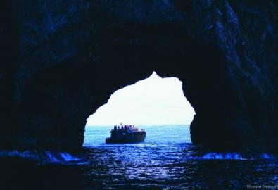 Neuseeland Bay of Island Hole Rock