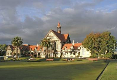 Neuseeland Rotorua Museum