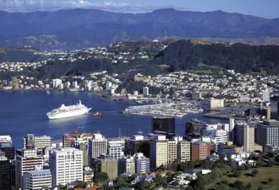 Neuseeland Wellington Fähre