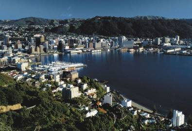 Neuseeland Wellington Hafen