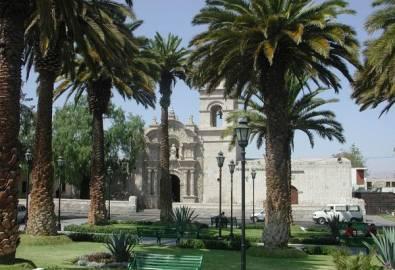 Peru Arequipa Plaza