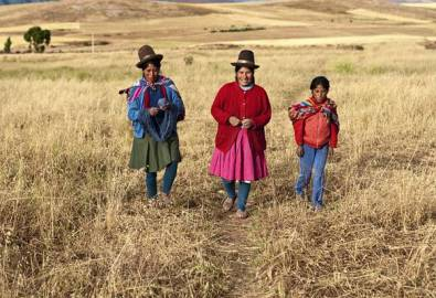 Peru Frauen Sacred Valley