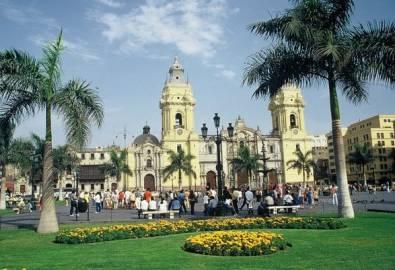Peru Lima Kathedrale