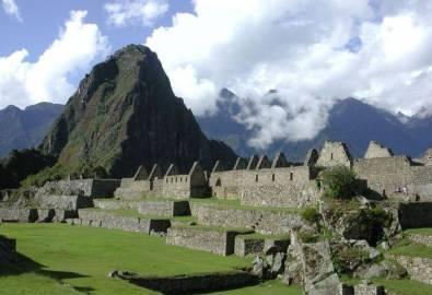 Peru Machu Picchu Inkastätte