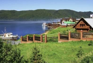 Russland Baikal See Listvianka