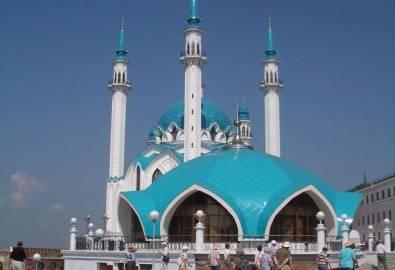 Russland Kasan Kreml Moschee