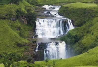 Sri Lanka Nuwara Wasserfall