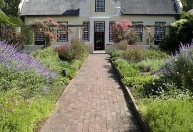 Südafrika Kapholländisches Haus