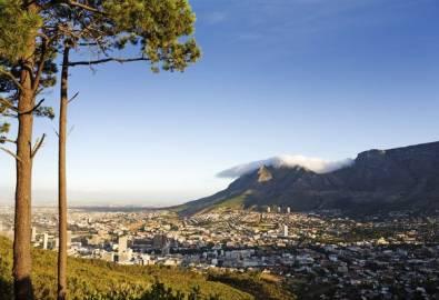 Südafrika Kapstadt von oben