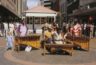 Südafrika Musiker