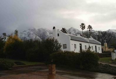 Südafrika Swellendam Haus