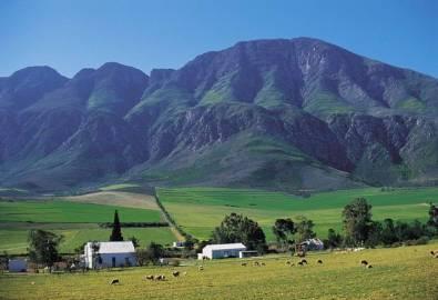 Südafrika Swellendam Landschaft