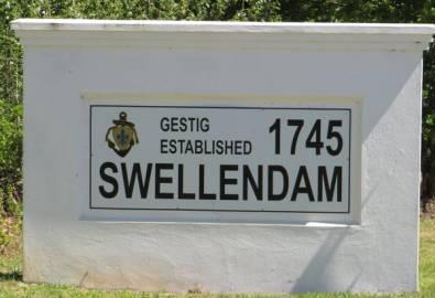 Südafrika Swellendam Ortseingang