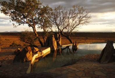 Tansania - Grumeti Hills Pool