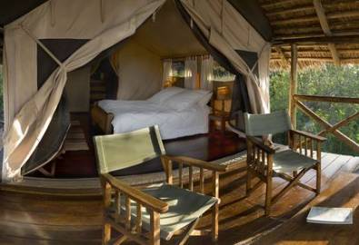Tansania Tarangire Maweninga Camp Zimmer