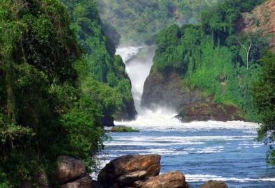 Uganda Murchinson Fälle