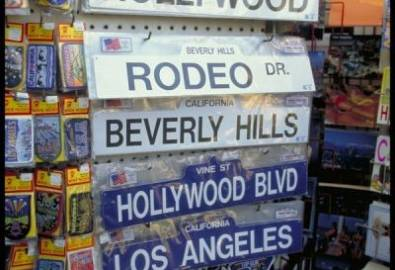 USA Los Angeles Straßenschilder