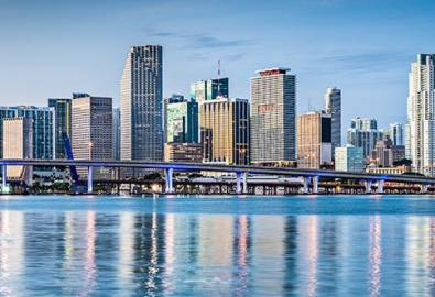 USA Miami Skyline