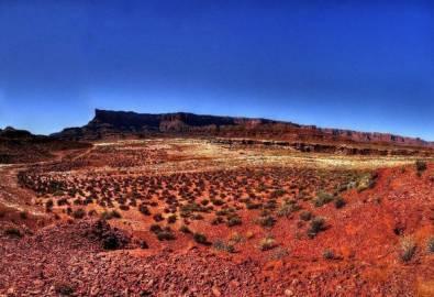 USA Moab White Rim Road