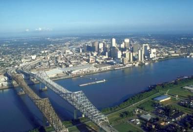 USA New Orleans von oben