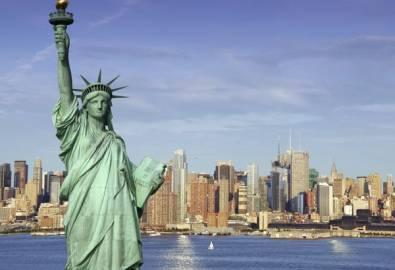 USA Freiheitsstatue in New York