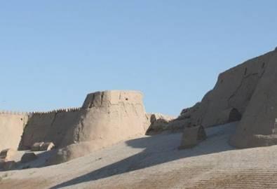 Usbekistan Chiwa Stadtmauer
