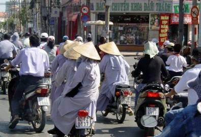 Vietnam Ho Chi Ming Verkehr